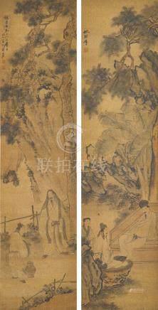 蘇六朋 (約1790-1862) 松下高士
