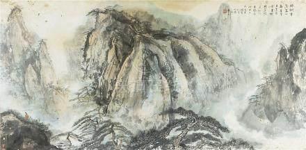 楊文龍 山水