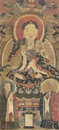 清 儒、釋、道三教造像畫