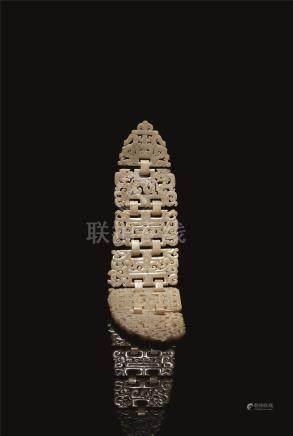西周-汉 古玉收藏珍品 (一套共十四件)