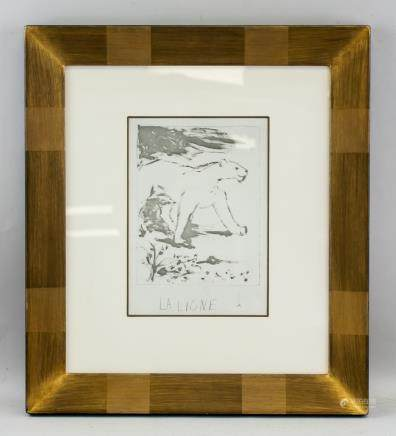Pablo Picasso Framed Print with COA