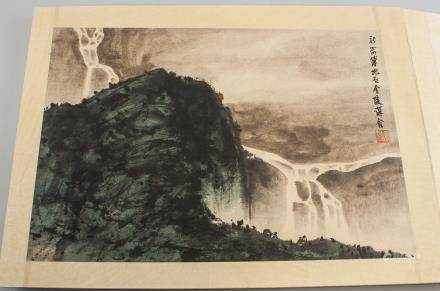 Fu Baoshi 1904-1965 Sketchbook Watercolor