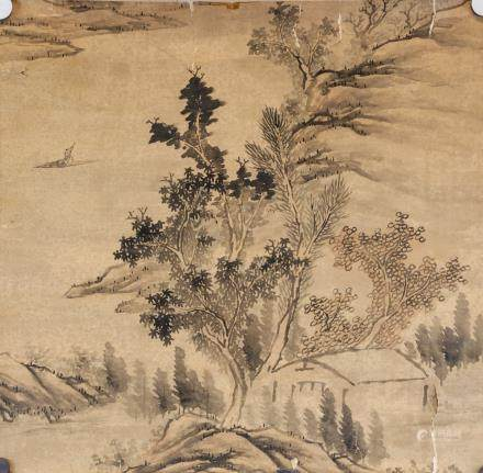 16-18th Century Chinese/Japanese Watercolor Paper