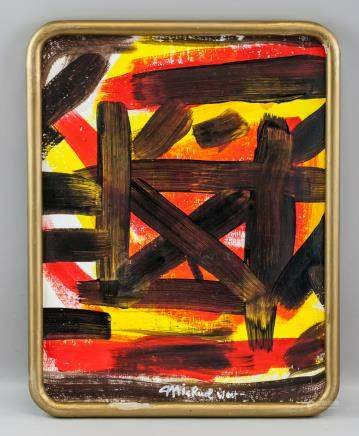 Corinne Michael West American Abstract OOC