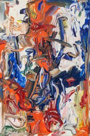 Willem de Kooning Dutch American Abstract OOC