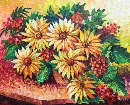 Alexander Antanenka b.1951 Russian Acrylic Canvas