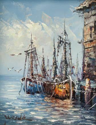 Arthur Edwin Wrench b.1895 Scottish Oil on Canvas