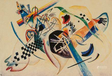 Wassily Kandinsky Russian Abstract Signed EA Litho