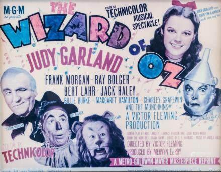 Vintage Reprint Lobby Card Wizard of OZ
