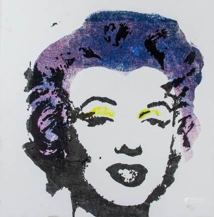 Andy Warhol American Pop Silkscreen 9/15 Signed