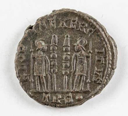 Ancient Rome Empire Copper Coin