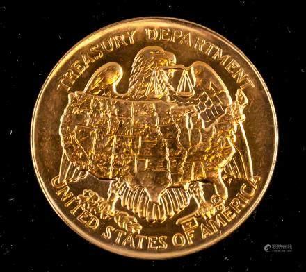US Treasury Department San Francisco Mint Medal