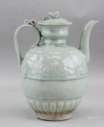Chinese Song/Yuan Porcelain Water Pot with Lid
