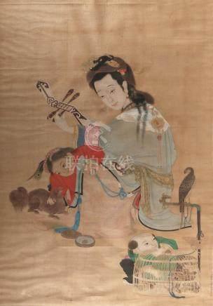 AFTER CHEN RUYAN, Qing Dynasty