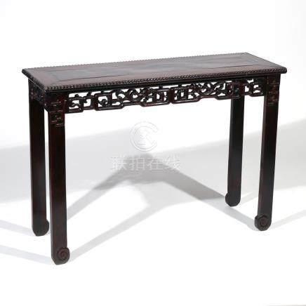 CHINESE HONGMU SIDE TABLE