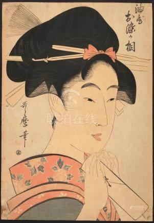 KITAGAWA UTAMARO (Japanese, 1753-1806)