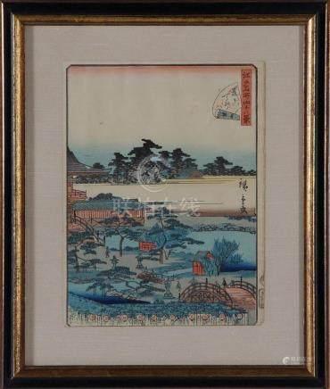 Japanese school, Meiji period (4pcs)