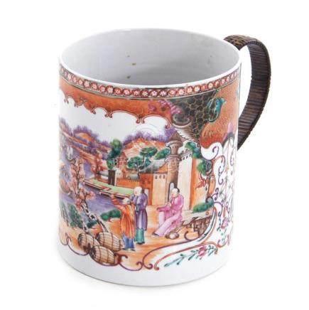 Chinese Export porcelain large mug