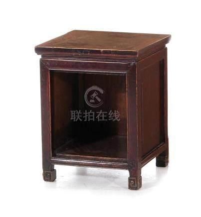 Chinese hardwood pedestal/stand