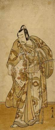 Shunsho, Katsukawa, 1726-1792, Yakushae (Hosoban, ca. 1790)