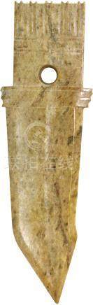 商代 Shang Dynasty (1600 - 1046BC)  商代玉戈