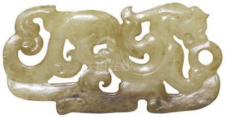 漢代 HanDynasty (206BC-227AD)  東漢後期龍珮
