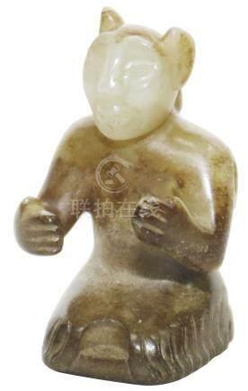 漢代 HanDynasty (206BC-234AD)  漢 說唱俑