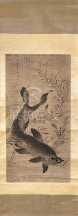 PAINTING OF A CARP