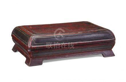 WOODEN BOX WITH COVER
