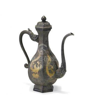 SILVER EWER WITH COVER