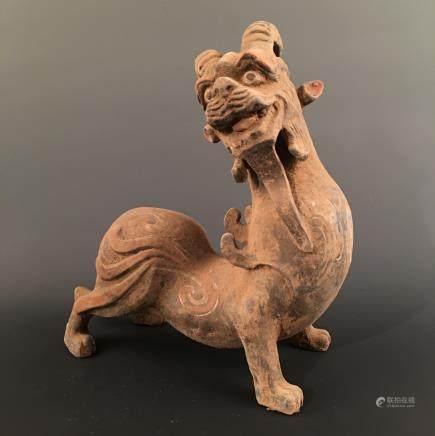 Chinese Tang Cai 'Ruishou' Figure