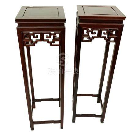 Pair of Chinese Stands