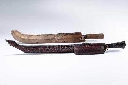 原住民 刀具 二件