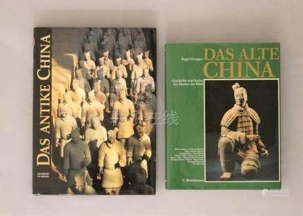 Konvolut China, zwei Bücher: Maurizio Scarpari, Das antike China; Roger Goepper, Das alte China.