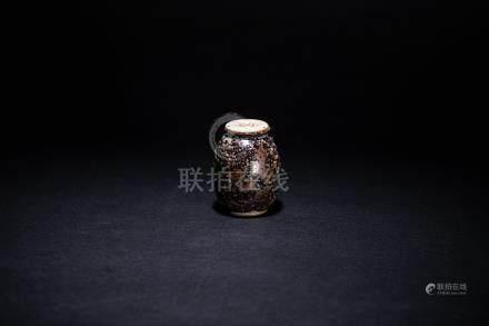 宋 吉州窯茶入