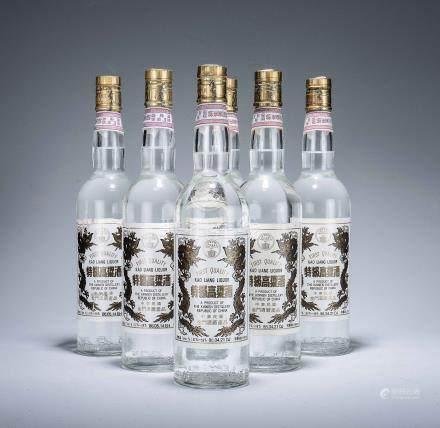 民國86年 特級高粱酒白金龍 六瓶
