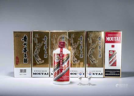 2013年 貴州茅台酒(醬香型白酒) 六瓶