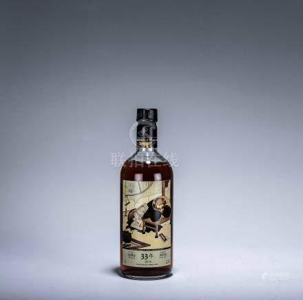 日本川崎 Kawasaki 1980年 33年單桶威士忌原酒