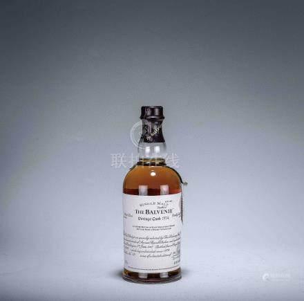 百富Balvenie 1974年 單一純麥蘇格蘭威士忌