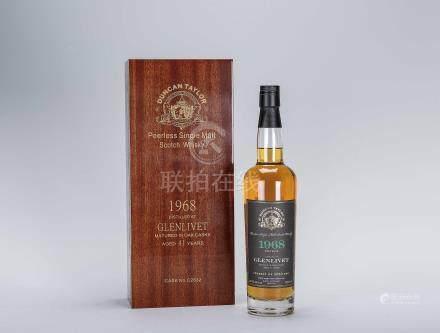 鄧肯泰勒 Duncan Taylor 格蘭利威 Glenlivet 1968年 41年 單一麥芽威士忌