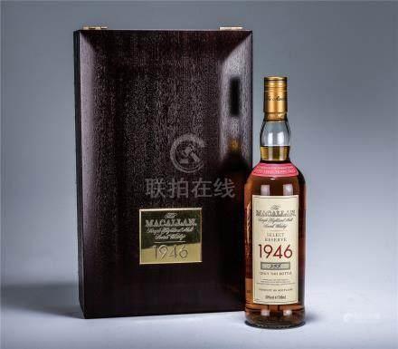 麥卡倫 Macallan 1946年 單一純麥蘇格蘭威士忌
