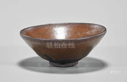 Chinese Song Dynasty Glazed Tea Bowl