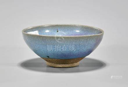 Chinese Song-Style Junyao Glazed Bowl