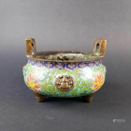 Cloisonne Censor with Handle