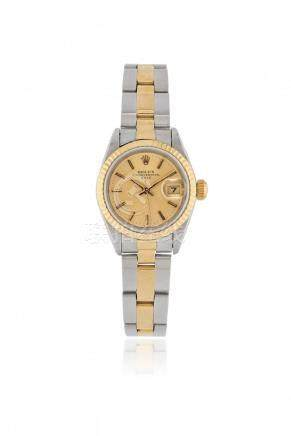 STEEL AND GOLD ROLEX DATEREF. 69173, CIRCA 1983