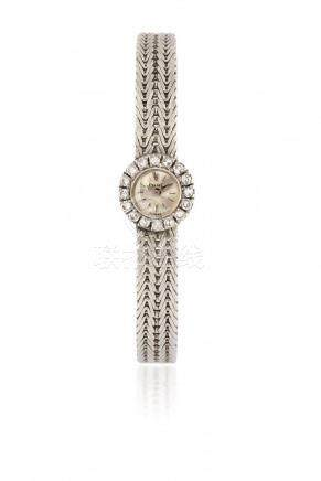WHITE GOLD PIAGET REF. 2301 WITH BRACELET, 60s