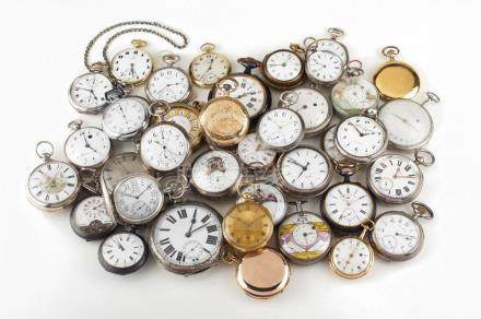 LOT OF 78 POCKET WATCHES
