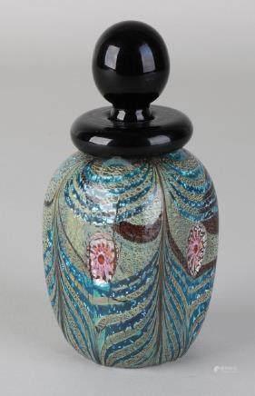 Murano glass perfume bottle, design by Franco Moretti