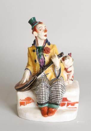 Rare German antique porcelain figure. Martin Wiegand