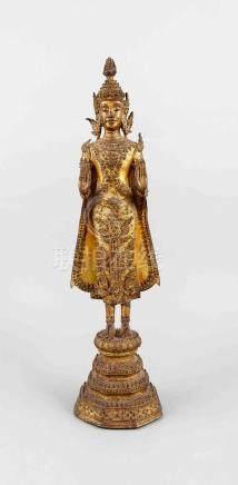 Buddha Ratanakosin, Thailand, probably 19th century, fire-gi